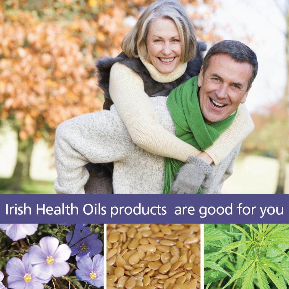 Hemp Oil and Flax Oil - Irish Health Oils