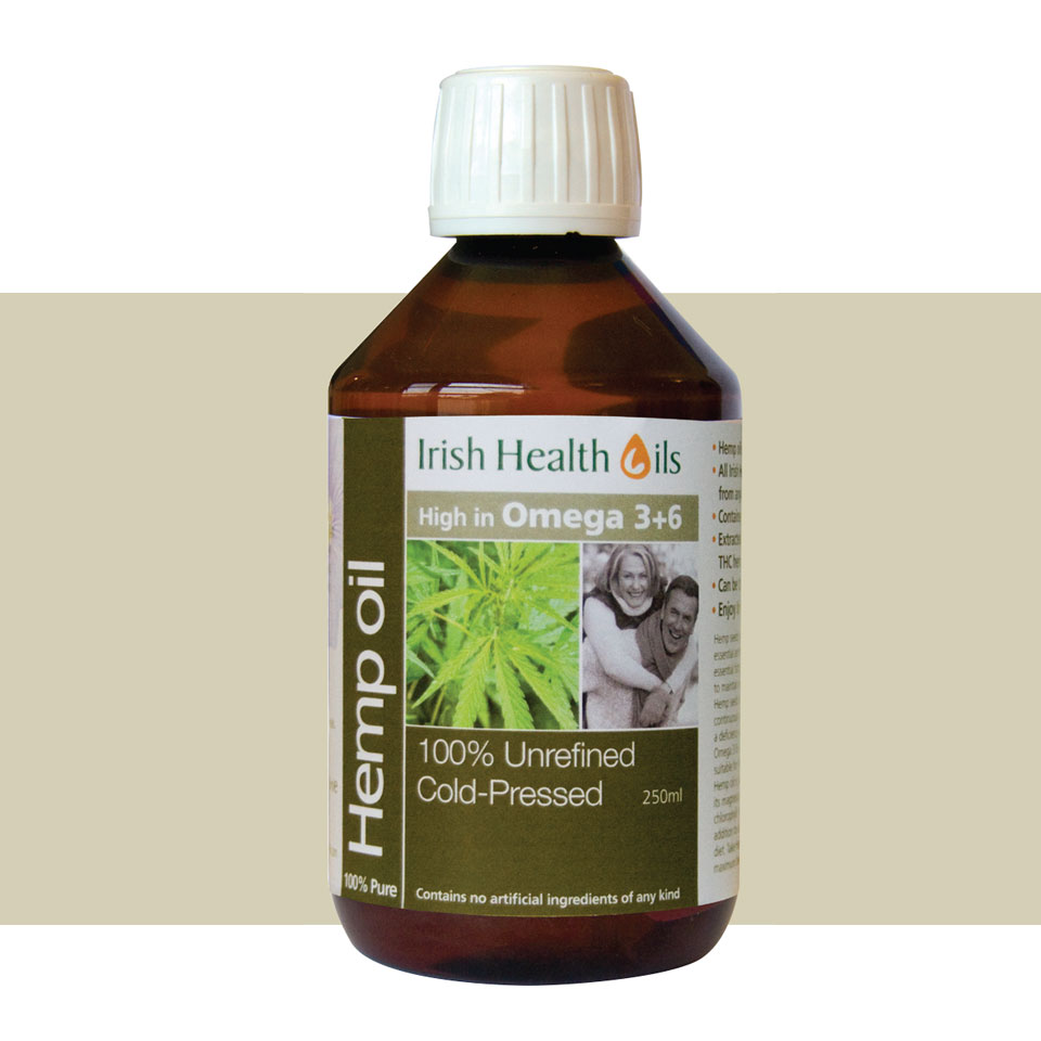 Hemp Oil - Irish Health Oils