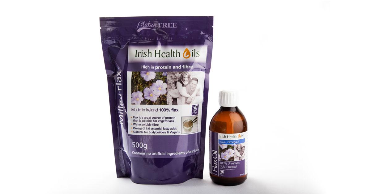 Milled Flax & Flax Oil - Irish Health Oils